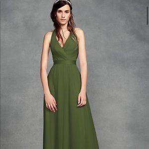 Vera Wang White Bridesmaid Dress Size 4